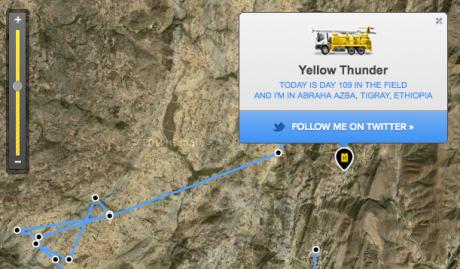 Yellow Thunder drilling rig